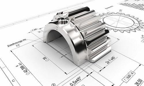 Auch die 3D CAD Konstruktion gehört zu unseren Leistungen.