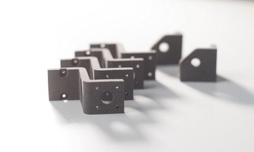 Mittels 3D Druck im SLS-Verfahren hergestellte Kleinserie.