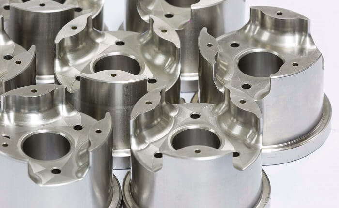 CNC Frästeile aus Metall