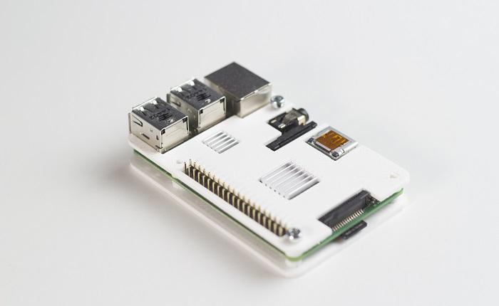 Mittels 3D Druck hergestelltes Elektronikgehäuse
